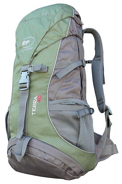 Hátizsák Terra 40 AC szürke-zöld 9f2e6dd123